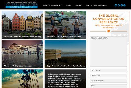 CROって?~ロックフェラー財団「100のレジリエンス都市」の最初の33都市を発表