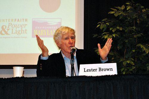 レスター・ブラウン氏、数十年に及ぶ第一線の活動から引退