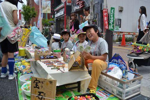 こども夢の商店街の「おむすび通貨」が地域を元気に強くする!