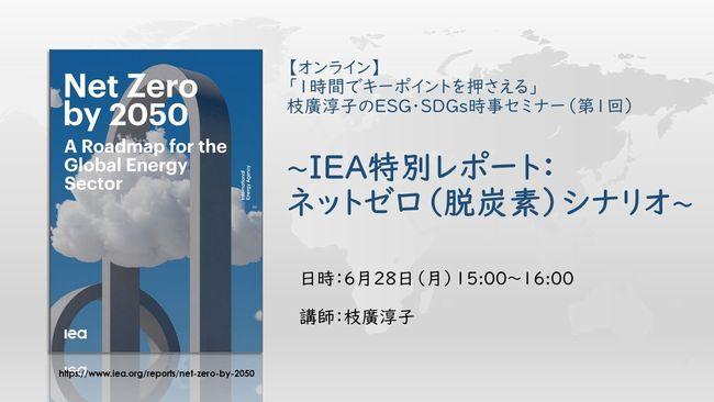 『IEA特別レポート:ネットゼロ(脱炭素)シナリオ』 を読むセミナー